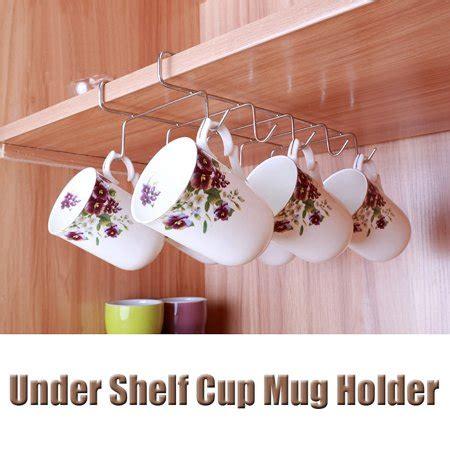 Cabinet Coffee Mug Holder by Jeteven Mug Holder Coffee Tea Cup Rack Storage Kitchen