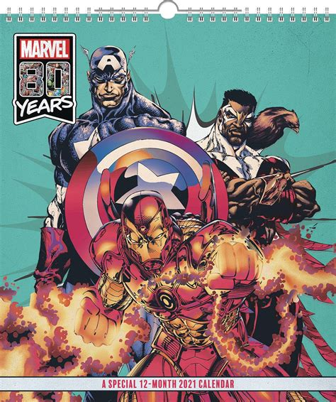 APR202506 - MARVEL COMICS SPECIAL ED 2021 WALL CALENDAR ...