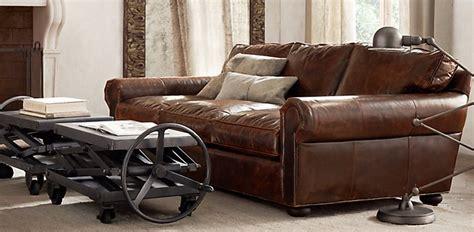 who makes restoration hardware sofas nice leather sofas nice leather sofa rooms thesofa