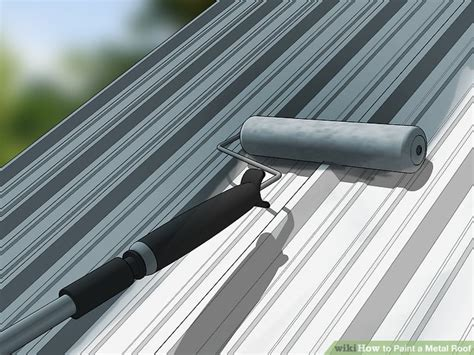 How to Paint a Metal Roof (with Pictures) wikiHow