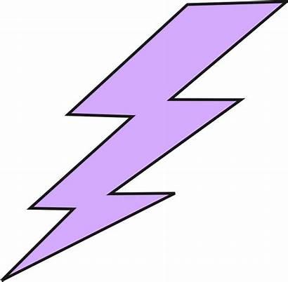 Lightning Bolt Lighting Clipart Purple Bolts Animated