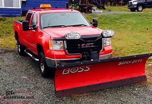 2007 Gmc Sierra With 8ft Heavy Duty Boss Plow