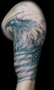 American Eagle Tattoo On Arm