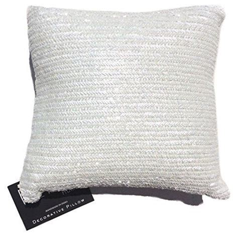 nicole miller chevron beaded decorative toss pillow cover