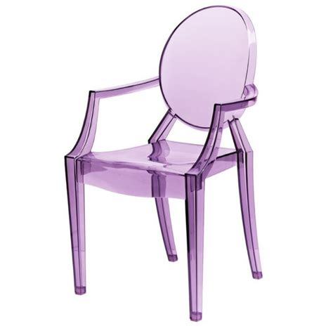 buy purple ghost acrylic chair ghost style louis chair