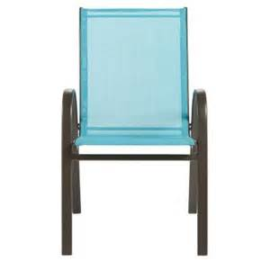 home decorators collection patio sling chair in blue 2