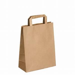 Sac Papier Kraft Deco : sacs kraft brun poign es plates 44 x 32 x 17 cm carton de 50 sacs papier kraft ~ Dallasstarsshop.com Idées de Décoration