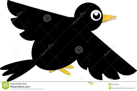 Cartoon Crow Stock Vector. Image Of Bird, Cute, Walking