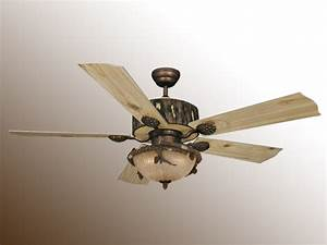 Rustic ceiling fans with light low ceilings while a
