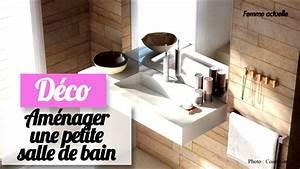 Aménager Une Petite Salle De Bain : amnagement petite salle de bain 5m2 ~ Melissatoandfro.com Idées de Décoration
