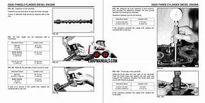 Iseki 3 Cylinder Diesel Engine Service Manual  2004  U0026 Earlier