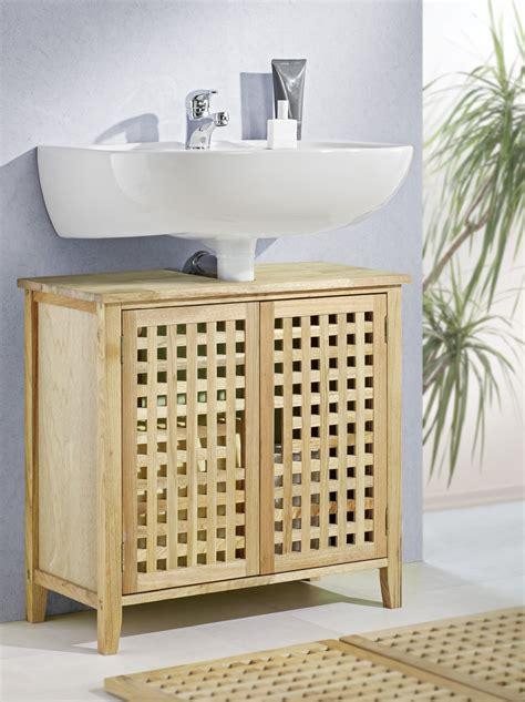 Badezimmer Unterschrank Lamellen by Waschbeckenunterschrank Walnuss Schr 228 Nke M 246 Bel Und