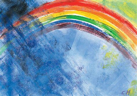 beschirmt unterm regenbogen konfirmation kunst und