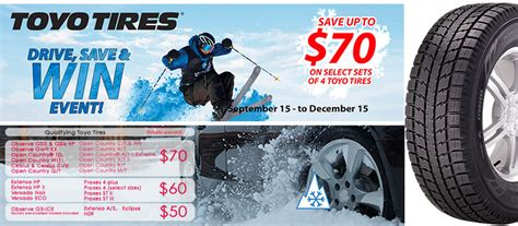toyo tires rebate form winter auto tires fall rebate specials new westminster bc