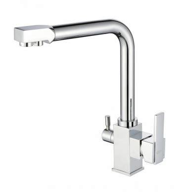 kitchen sink mixers nz 3way dual lever tri flow chrome faucet water filter 5861