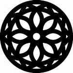 Mandala Icon Icons Svg Freepik Designed Flaticon
