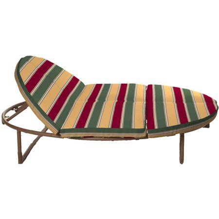 orbit chaise lounger mainstays outdoor orbital lounger cushion set