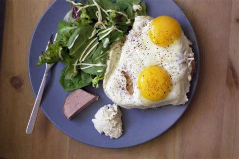 The simple custard is just eggs, sugar, vanilla, honey, and nutmeg. brkfst | sunny side up eggs on toast sprinkled with lots ...