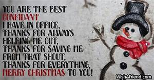 Christmas messa... Holiday Coworker Quotes