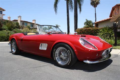 1961 250 Gt California For Sale by 1961 250 Gt California Spyder Quot Ferris Bueller S
