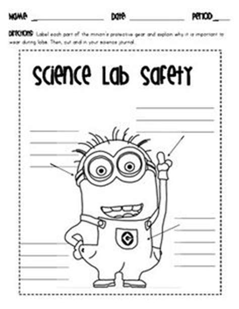 Lab Safety  Search Games, Word Search And Middle School