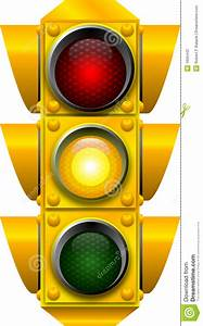 Traffic Signal Caution Stock Photos