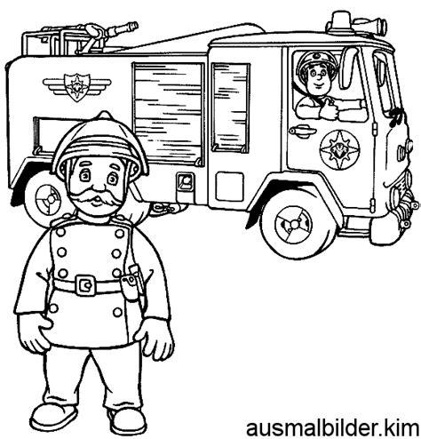 Ausmalbilder von Feuerwehrmann Sam zum Drucken 2016