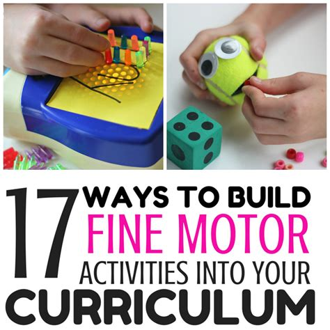 17 ways to build motor activities into your 412 | 17 ways square