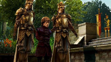 thrones game tyrion dragons episode screenshots lannister jon snow