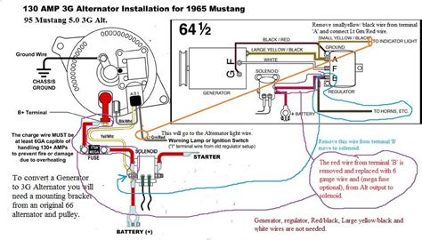 Magic 12 Volt Relay Wire Diagram by Image Result For Generator To Alternator Conversion Ford