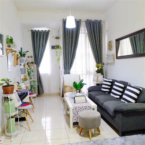 Cara Mengatur Dekorasi Ruang Tamu Rumah Kecil Agar Terasa
