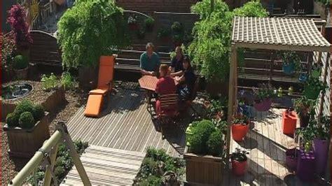 Une Terrasse De Ville Devient Jardin 88  Une Terrasse à
