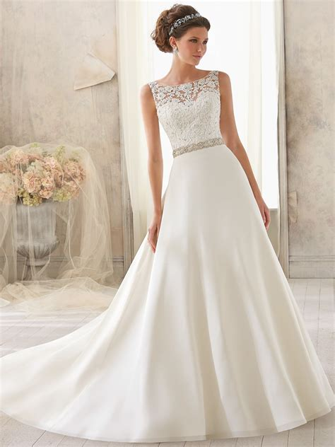 Mori Lee Blu Bridal Dress 5204