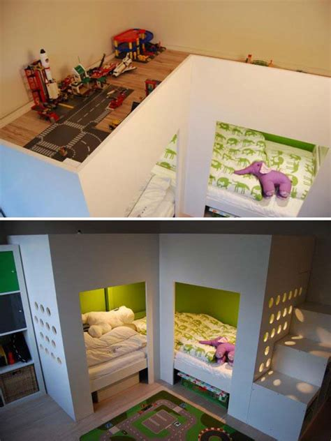 Toddler Bunk Beds Ikea by 20 Awesome Ikea Hacks For Kids Beds Hative