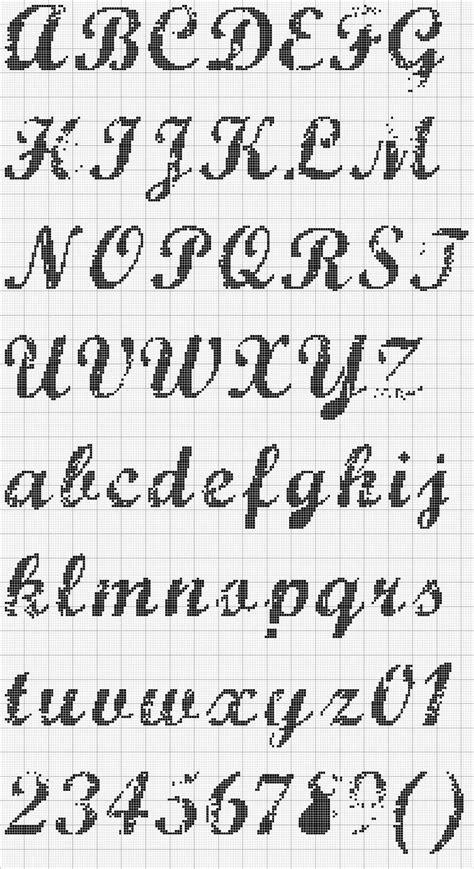 laurinha bordados em ponto gr 225 fico alfabeto em ponto letras en punto de