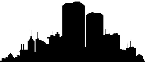 City Clip City Clipart Silhouette Pencil And In Color City