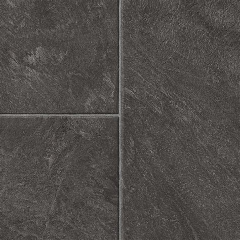 tile style laminate flooring shop style selections 12 83 in w x 4 27 ft l glentanner slate embossed tile look laminate