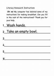 Muddled Up Instructions- Breakfast By Rafiab