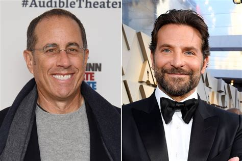 Bradley Cooper Bonds With Jerry Seinfeld Over Soup