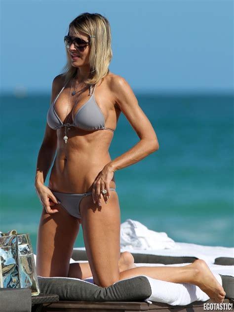hot actress rita rusic gray bikini pictures  miami