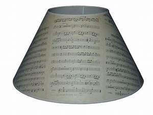 Abat Jour Original : abat jour partition musicale autrefois decolux ~ Melissatoandfro.com Idées de Décoration