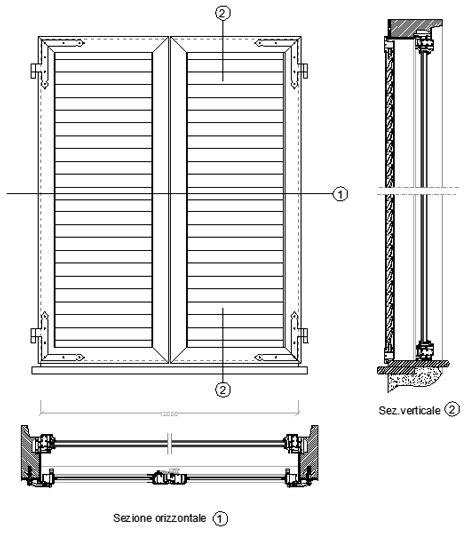 Infissi Alluminio Dwg 3d Riparazione Della Facciata Dell Edificio