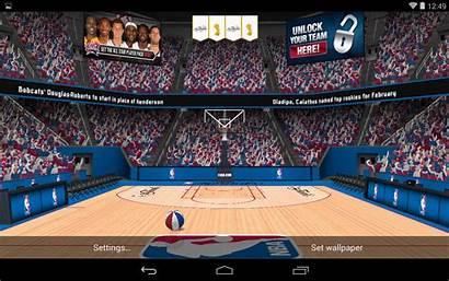 Wallpapers 3d Nba Basketball Android Wallpapersafari Livewallpapers