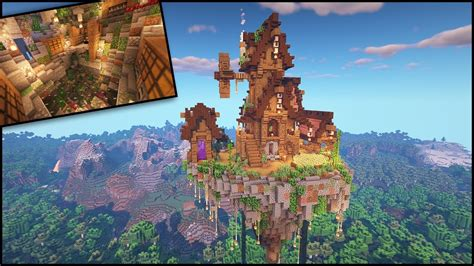 minecraft timelapse  ultimate survival sky island base world  youtube