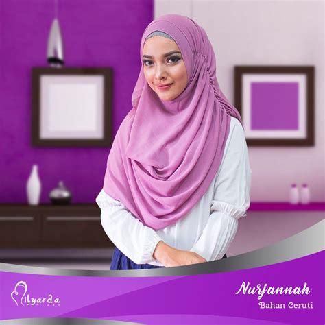 hijab instan bahan ceruti tutorial hijab terbaru