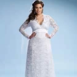 plus size sleeved wedding dress plus size wedding dress wedding ideas