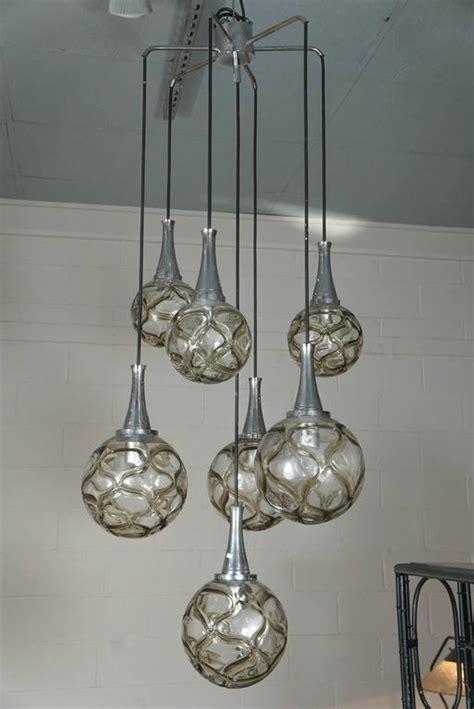 doria leuchten multi glass globe chandelier for sale at