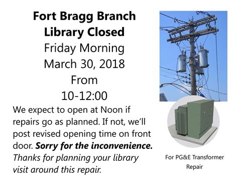 planned power outage friday march  beginning