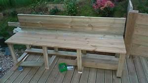 Coffre De Terrasse : terrasse suite du banc coffre ma terrasse ~ Melissatoandfro.com Idées de Décoration