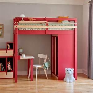 Lit Dans Armoire : armoire lit bureau et biblioth que dans moins de 3m2 ~ Premium-room.com Idées de Décoration